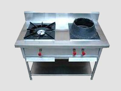 Indian & Chinese Combo Cooking Range, Indian & Chinese Combo Cooking Range Manufacturer